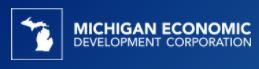 MI economic development corp logo